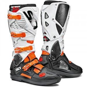Sidi Crosslaarzen Crossfire 3 SRS White/Fluor Orange