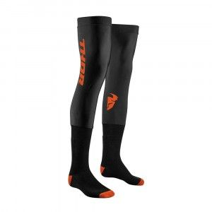 Thor Crosssokken Comp Black/Red Orange