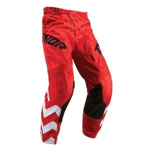 Thor Kinder Crossbroek Pulse Stunner Red/White