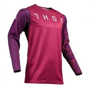 Thor Shirt Prime Pro Infection Maroon/Red Orange