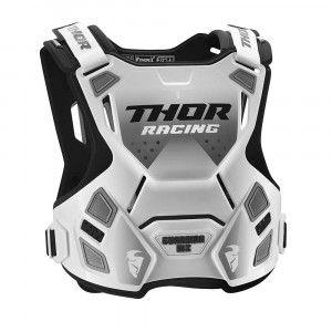 Thor Body Protector Guardian MX White/Black