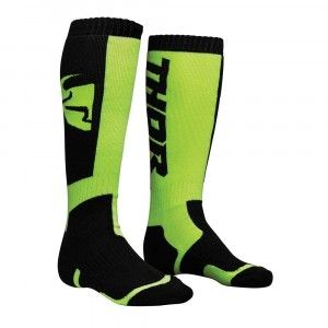 Thor Crosssokken MX Black/Lime