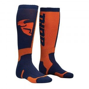 Thor Kinder Crosssokken MX Navy/Orange