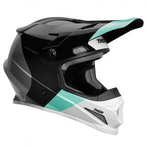 Thor Crosshelm Sector MIPS® Black/Mint