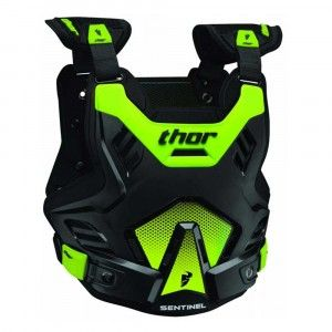 Thor Kinder Body Protector Sentinel GP Black/Green