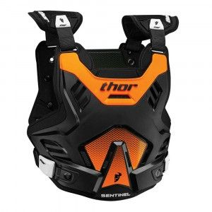 Thor Kinder Body Protector Sentinel GP Black/Orange