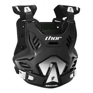 Thor Kinder Body Protector Sentinel GP Black/White