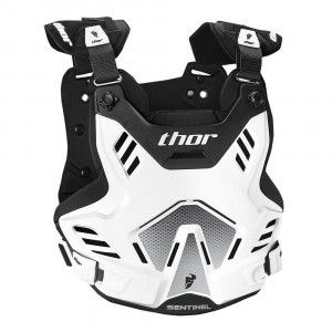 Thor Body Protector Sentinel GP White/Black
