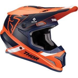 Thor Crosshelm Sector Split MIPS® Navy/Orange