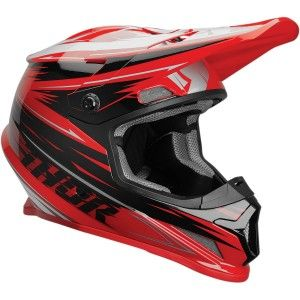 Thor Crosshelm Sector Warp Black/Red