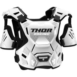 Thor Kinder Body Protector Guardian White/Black
