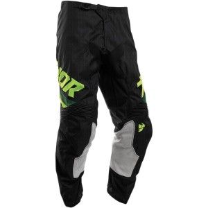 Thor Kinder Broek Pulse Air Pinner Black/Acid