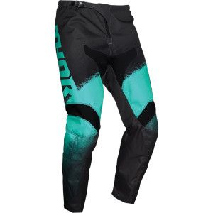 Thor Kinder Crossbroek Sector Vapor Black/Mint