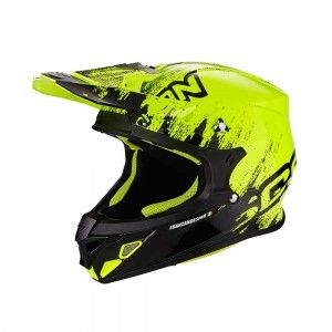 Scorpion Crosshelm VX-21 Air Mudirt Black/Neon Yellow